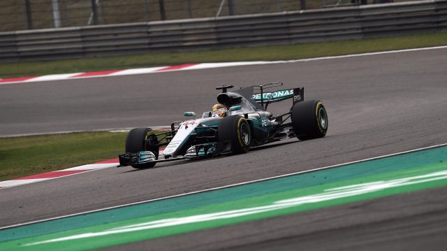 Lewis Hamilton (GBR) Mercedes-Benz F1 W08 Hybrid at Formula One World Championship, Rd2, Chinese Grand Prix, Race, Shanghai, China, Sunday 9 April 2017. &copy&#x3b; Sutton Motorsport Images