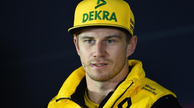 Nico Hulkenberg (GER) Renault Sport F1 Team in the Press Conference at Formula One World Championship, Rd2, Chinese Grand Prix, Preparations, Shanghai, China, Thursday 6 April 2017. &copy&#x3b; Sutton Motorsport Images