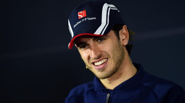 Antonio Giovinazzi (ITA) Sauber in the Press Conference at Formula One World Championship, Rd2, Chinese Grand Prix, Preparations, Shanghai, China, Thursday 6 April 2017. &copy&#x3b; Sutton Motorsport Images