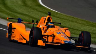 Alonso's bid for Indy 500 glory ends in retirement