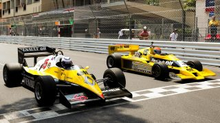 Renault kick off 40th anniversary celebrations with Monaco demo run