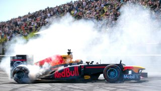 Local hero Verstappen thrills fans at Zandvoort