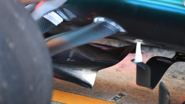 Mercedes-Benz F1 W08 Hybrid aero detail at Formula One World Championship, Rd5, Spanish Grand Prix, Preparations, Barcelona, Spain, Thursday 11 May 2017. &copy&#x3b; Sutton Motorsport Images