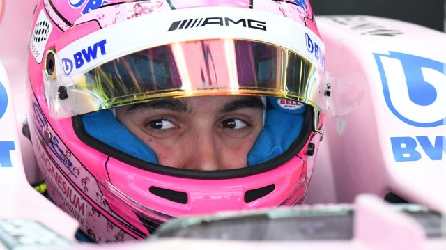 Esteban Ocon (FRA) Force India VJM10 at Formula One World Championship, Rd5, Spanish Grand Prix, Qualifying, Barcelona, Spain, Saturday 13 May 2017. &copy&#x3b; Sutton Motorsport Images