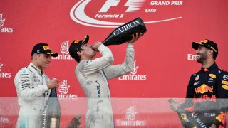 Stroll 'lost for words' after maiden F1 podium