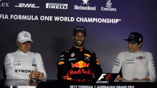 FIA post-race press conference - Azerbaijan