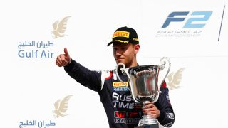 Ghiotto lands Hungary test with Williams