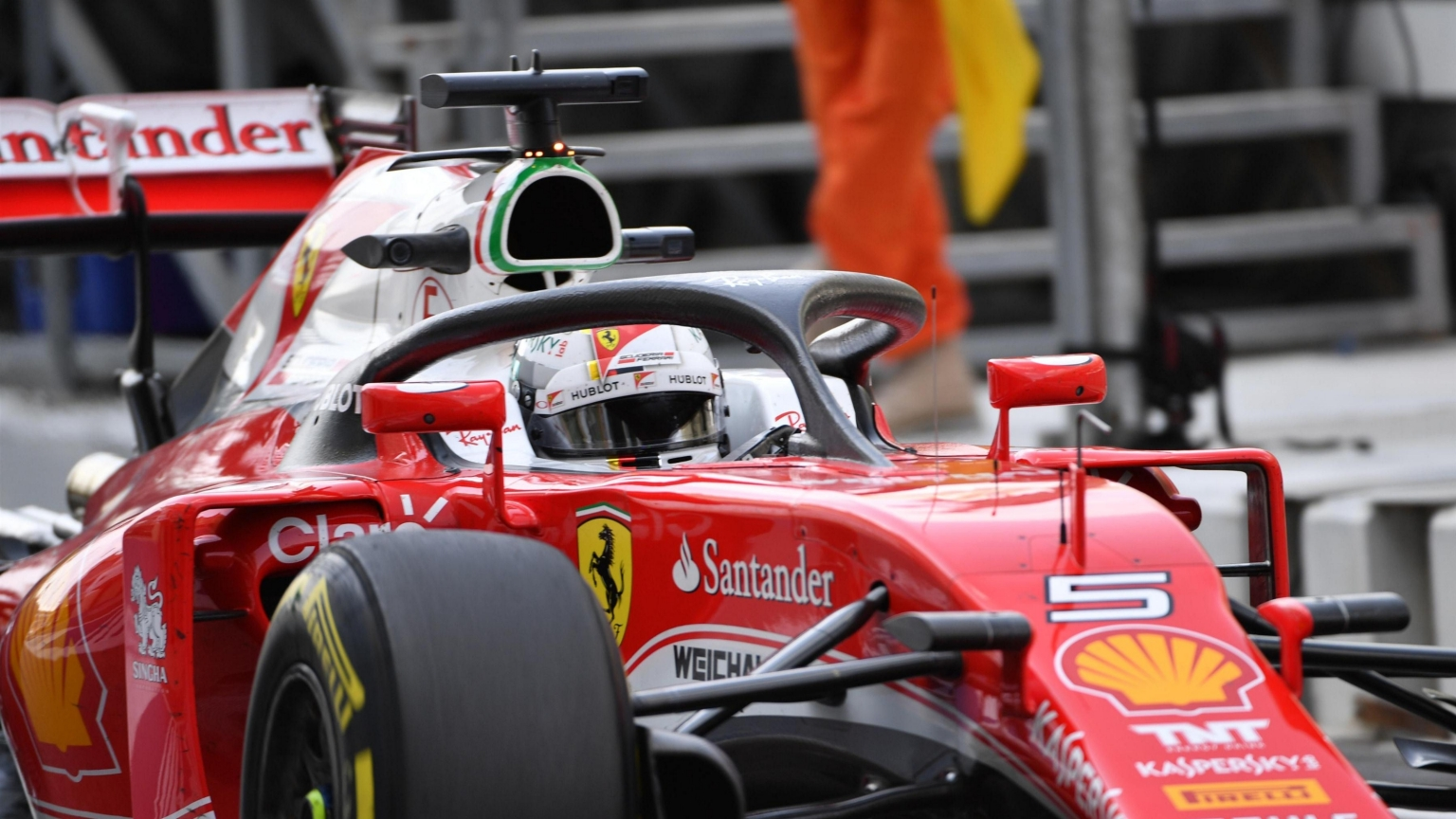 Halo protection system to be introduced for 2018