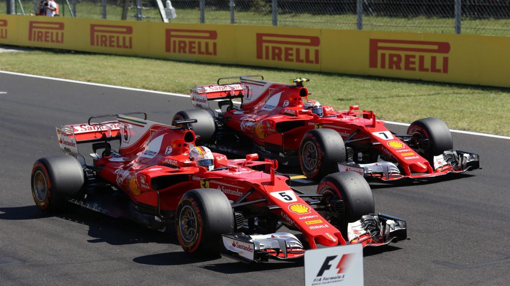 qualifying vettel leads ferrari one two in hungary. Black Bedroom Furniture Sets. Home Design Ideas