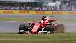 Slow puncture to blame for Vettel's Silverstone tyre drama