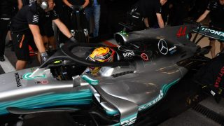 Halo strong enough to hold a bus, say Mercedes