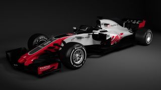 Haas first to reveal 2018 F1 car