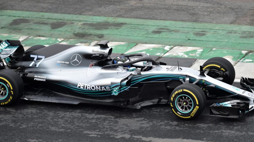 Mercedes 2018 Challenger Breaks Cover At Silverstone