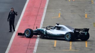 Mercedes' 2018 challenger breaks cover at Silverstone