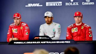 FIA post-qualifying press conference - Australia
