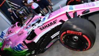Force India car almost completely new for Australia