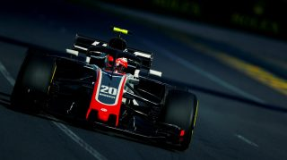 Magnussen 'proud' as Haas secure best-ever grid slot