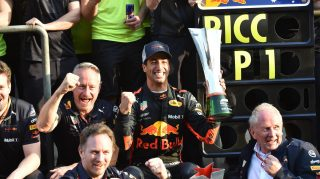 Hot property – Horner on the fight to re-sign Ricciardo