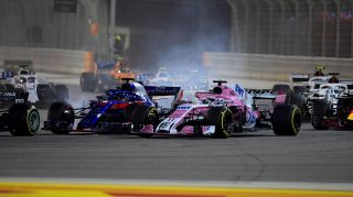 Perez and Hartley penalised over pre-race pass