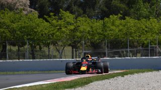Spain post-race test: Red Bull's Verstappen ends first day on top
