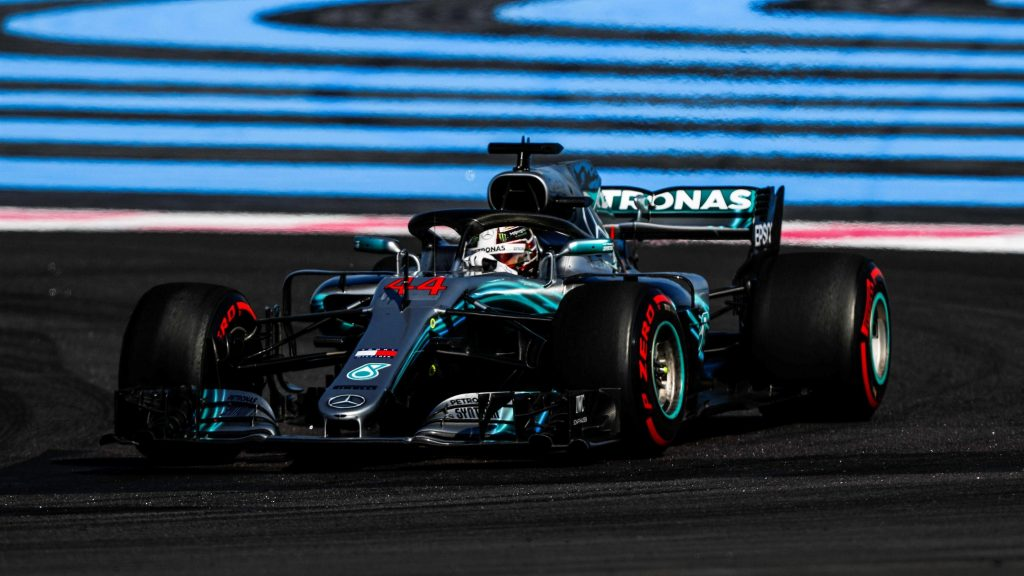 Qualifying Hamilton Claims Majestic 75th Pole In France