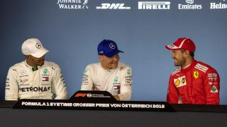 FIA post-qualifying press conference - Austria