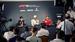 FIA post-race press conference - France