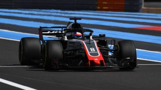 Strong Haas pace 'not a surprise', say team