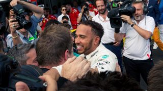 "Hamilton ""grateful"" but not getting carried away after regaining title lead"