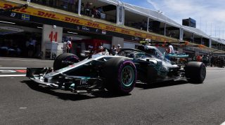 Mercedes reveal France engine update