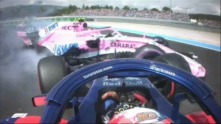 Ocon and Gasly rue early exits from home race