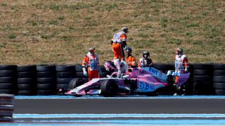 Perez escapes grid penalty over loose wheel