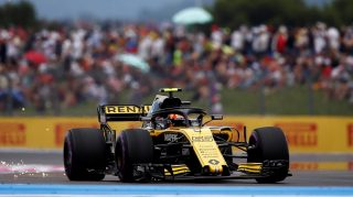 7th place in France a nice surprise for Renault's Sainz