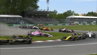 Sainz and Perez blame each other for Canada collision