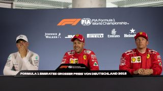 FIA post-qualifying press conference - Germany