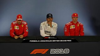 FIA post-qualifying press conference - Great Britain