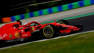 Giovinazzi sets new Hungaroring marker on first day of test