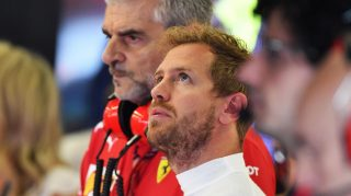 Improving car until end of year key to title – Vettel