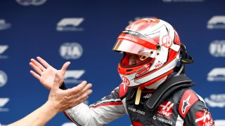 Magnussen hails best-ever Haas qualifying