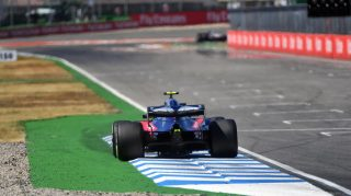 Penalised Gasly to start from back of Germany grid