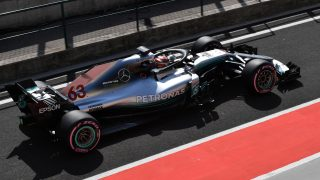 Russell sets the pace on final day of Hungary test