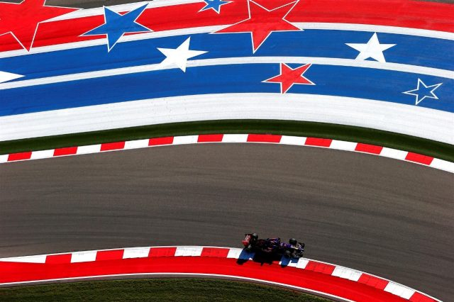 Max Verstappen (NDL) Scuderia Toro Rosso STR9. Formula One World Championship, Rd17, United States Grand Prix, Practice, Austin, Texas, USA, Friday, 31 October 2014