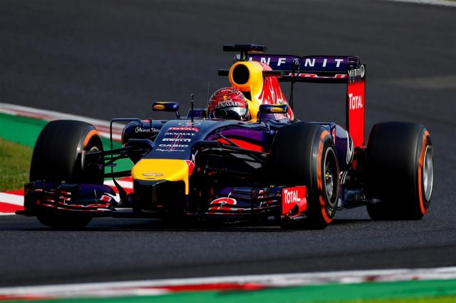 Sebastian Vettel (GER) Red Bull Racing RB10. Formula One World Championship, Rd15, Japanese Grand Prix, Practice, Suzuka, Japan, Friday, 3 October 2014