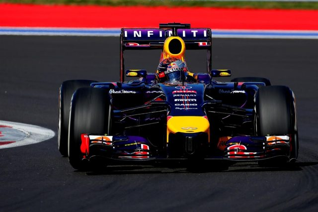 Sebastian Vettel (GER) Red Bull Racing RB10. Formula One World Championship, Rd16, Russian Grand Prix, Practice, Sochi Autodrom, Sochi, Krasnodar Krai, Russia, Friday, 10 October 2014