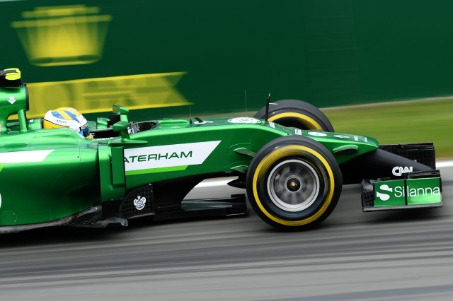 Marcus Ericsson (SWE) Caterham CT05. Formula One World Championship, Rd7, Canadian Grand Prix, Practice, Montreal, Canada, Friday, 6 June 2014