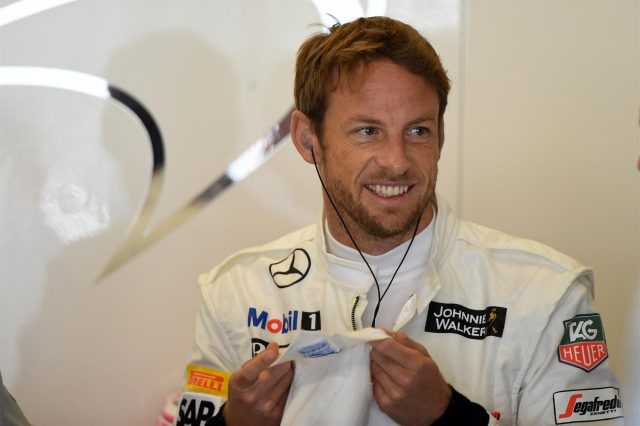 Jenson Button (GBR) McLaren. Formula One World Championship, Rd17, United States Grand Prix, Qualifying, Austin, Texas, USA, Saturday, 1 November 2014