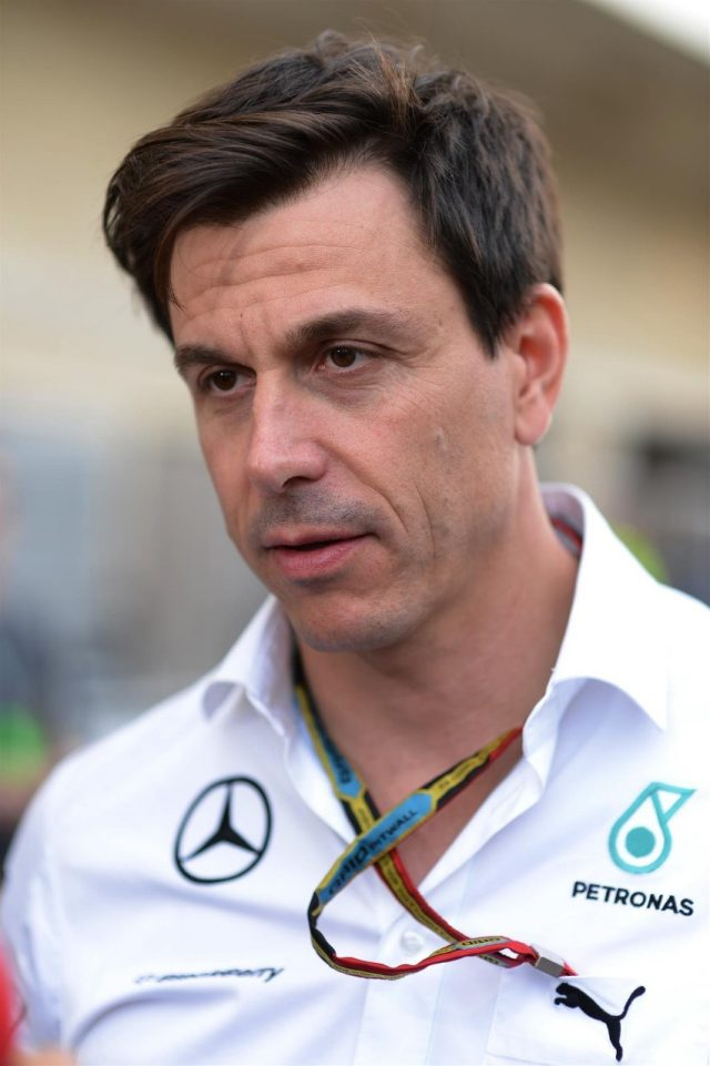 Toto Wolff (AUT) Mercedes AMG F1 Director of Motorsport. Formula One World Championship, Rd17, United States Grand Prix, Race, Austin, Texas, USA, Sunday, 2 November 2014