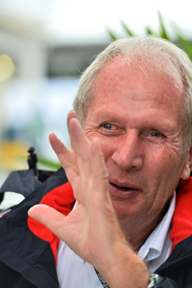 Dr Helmut Marko (AUT) Red Bull Motorsport Consultant. Formula One World Championship, Rd19, Brazilian Grand Prix, Qualifying, Sao Paulo, Brazil, Saturday, 23 November 2013