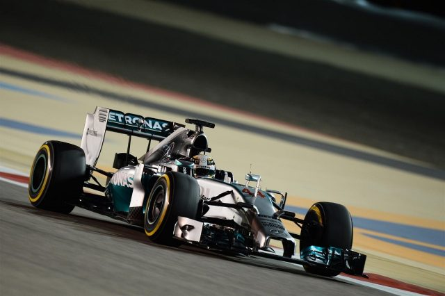 Lewis Hamilton (GBR) Mercedes AMG F1 W05. Formula One World Championship, Rd3, Bahrain Grand Prix, Practice, Bahrain International Circuit, Sakhir, Bahrain, Friday, 4 April 2014