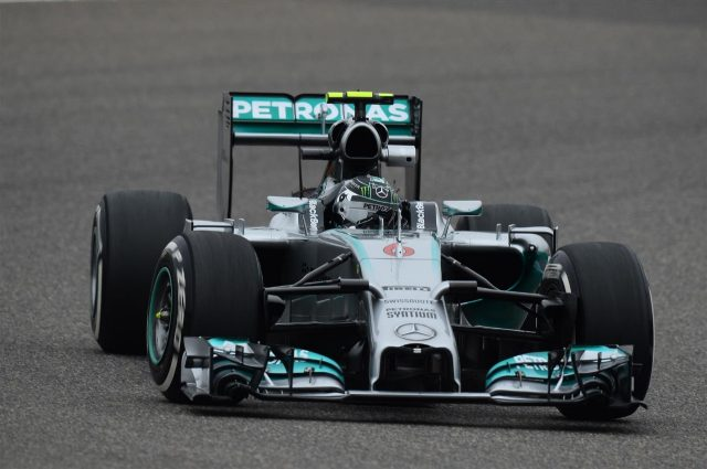 Nico Rosberg (GER) Mercedes AMG F1 W05. Formula One World Championship, Rd4, Chinese Grand Prix, Practice, Shanghai, China, Friday, 18 April 2014